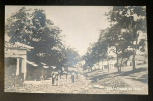 Vintage Penon Avenue Cali Columbia to New Jersey Real Picture Postcard Cover