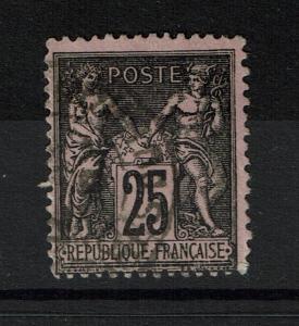 France SC# 93, Used, Few Close Perfs - Lot 062717