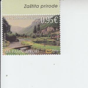 2016 Montenegro Ali Pasha's Spring (Scott 401) MNH