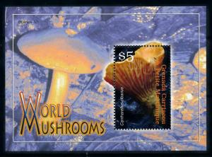 [100368] Grenada Carriacou 2007 Mushrooms Pilze Champignons Souvenir Sheet MNH