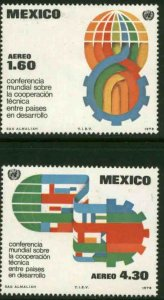 MEXICO C563-C564 Technical Cooperation Conference. MINT, NH. VF.