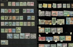 Cyprus 1880-1990M & U on a Mix of Stock Sheets & Cards