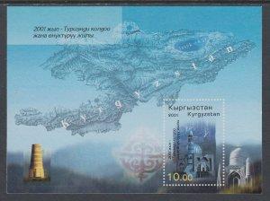 Kyrgyzstan 170 Souvenir Sheet MNH VF