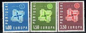 Portugal #875-7  MNH CV $3.00 (X1365)