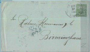 BK0341 - EL SALVADOR -  POSTAL HISTORY - EARLY COVER to BIRMINGHAM UK 1898