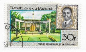 Burundi #221 30f  (U) CV $0.25