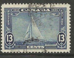 CANADA 216 USED, ROYAL YACHT BRITANNIA