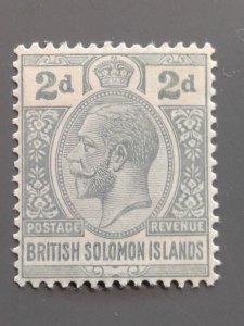 Solomon Islands 30 F-VF MLH. Scott $ 4.75