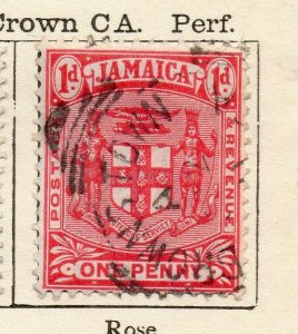Jamaica 1906 Early Issue Fine Used 1d. NW-114303