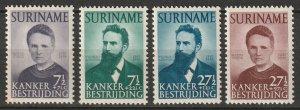 Suriname 1950 Sc B49-52 set MNH