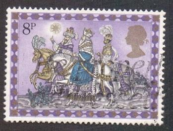Great Britain 1979 used Christmas 8p  The Three Kings  #