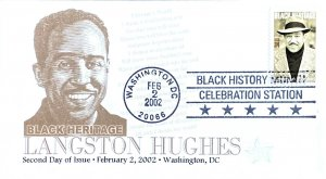 Future Postmaster General 3557 (FPMG) Langston Hughes 2nd Day Black History Mon