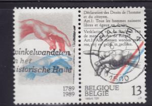 Belgium 1316 Declaration of Rights of Man 1989
