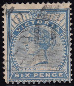 Australia Victoria - 1886 - Scott #165 - used Queen Victoria