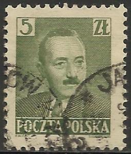Poland 1950 Scott# 478 Used
