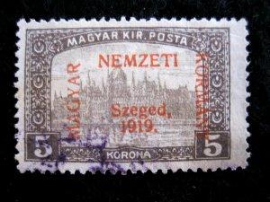 HUNGARY - SCOTT# 11N12 - USED - CAT VAL $60.00
