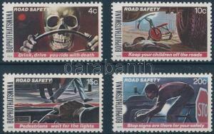 South-Africa-Bophuthatswana stamp Road safety set 1978 MNH Mi 25-28 WS185287