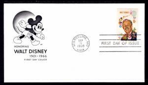 US 1355 Walt Disney House of Farnam U/A FDC