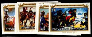 RWANDA 722-29(var)  Mint (ID # 55033)