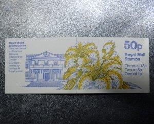 GB Stamps Books SG FB45  50p  DB14(6)  1  ~~L@@K~~