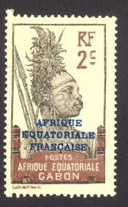 French Equatorial Africa 2 MHH
