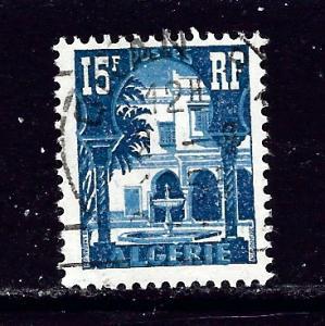 Algeria 258 Used 1954 issue