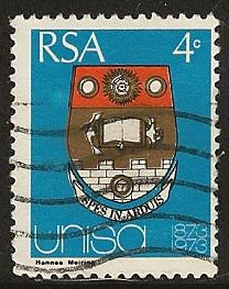 South Africa  used SC 389
