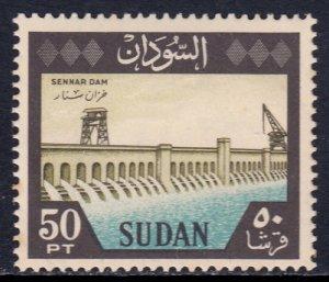 Sudan - Scott #158 - MLH - Toning spots - SCV $6.00