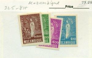 MOZAMBIQUE #325-8, Mint Hinged, Scott $73.25