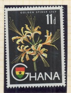 Ghana 1959 (5 Oct) Early Issue Fine Mint Hinged 11d. NW-99784