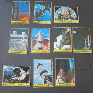 Bahrain 10 stamps space set FU