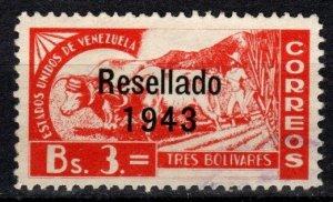 Venezuela #383   F-VF Used CV $22.00  (X318)