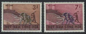 Viet Nam Scott 281-282 MVLH!