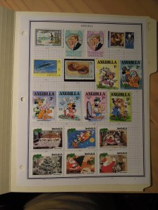 Small Anguilla collection, 27 stamps