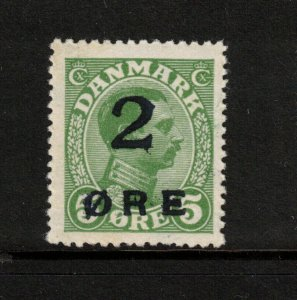 Faroe Islands #1 Very Fine Never Hinged With Usual Dried Original Gum