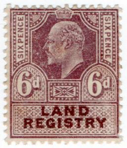 (I.B) Edward VII Revenue : Land Registry 6d