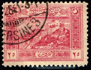 TURKEY Stamp 1922 National Motifs USED 25 PIA