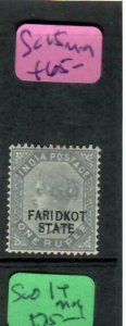 INDIA FARIDKOT  (PP0305B)  QV  1R  SG 15     MOG