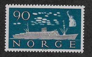 NORWAY SC# 386  FVF/MOG 1960