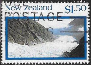 New Zealand 1108 Used - Glaciers - Fox Glacier