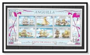 Anguilla #264a Sailing Ships Souvenir Sheet MNH