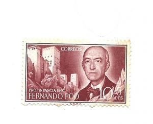 Fernando Poo 1960 - Scott #B1