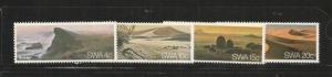 SOUTHWEST AFRICA 1977 SCOTT 398-401 MNH