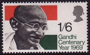Great Britain Gandhi Centenary Year 1969 MNH SG#807 SC#600