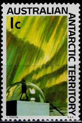 Australian Antartic Terr.; 1966: Sc. # L8: **/MNH Single Stamp