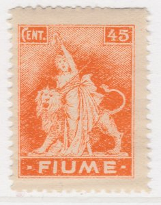 Fiume 1919 45c Very Fine MH* Stamp A21P11F4952