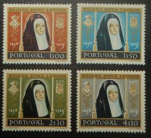 Portugal 840-43. 1958 Queen Leonor