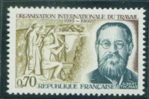 FRANCE Scott 1247 MNH** Albert Thomas 1969 stamp
