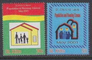 St Kitts 494-495 MNH VF