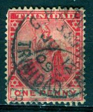 Trinidad; 1909; Sc. # 106; O/Used Single Stamp